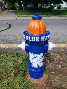 University of Kentucky fire hydrant