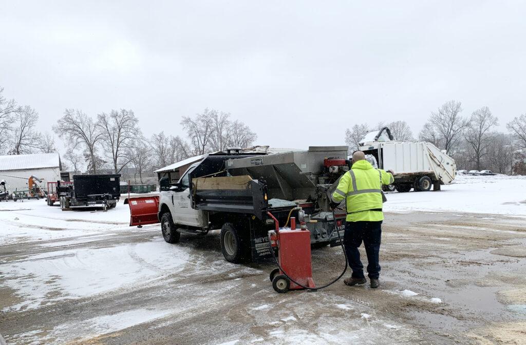 Snow truck IMG 0531