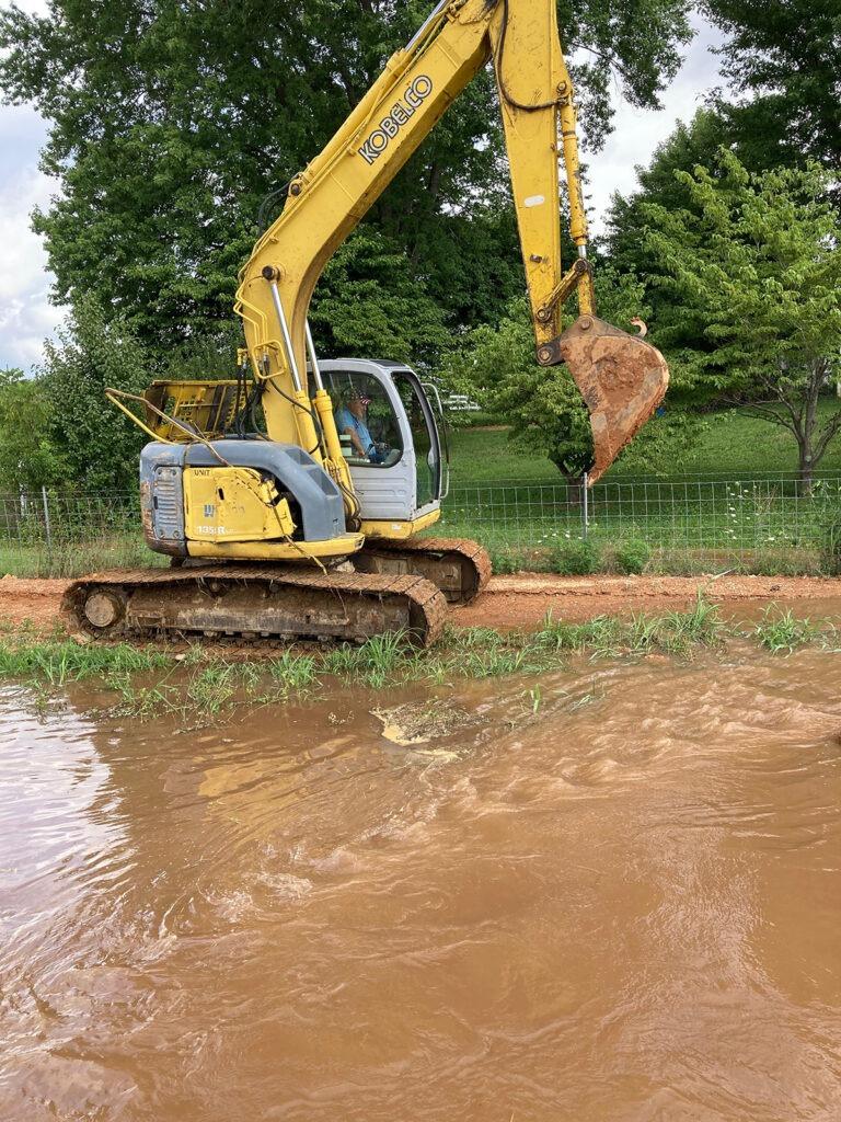 Water Dept Work