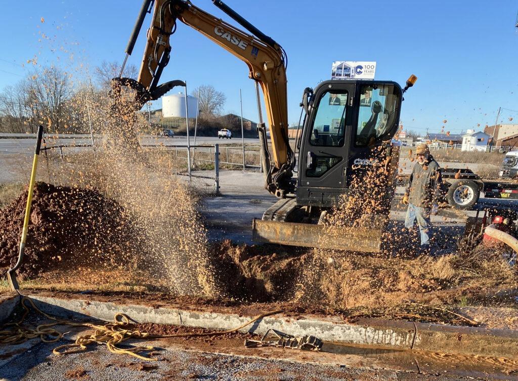 Water leak IMG 2080