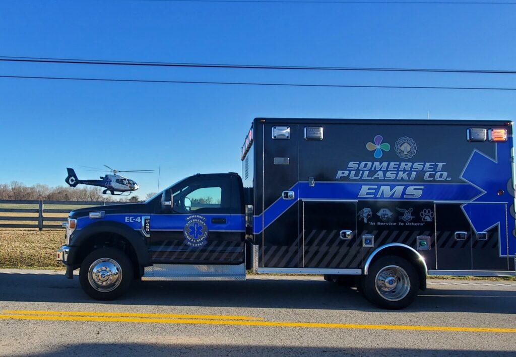 EMS schoolmascot ambulance