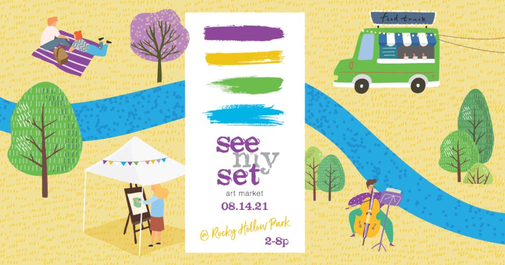 seemyset art market FB cover Aug2021